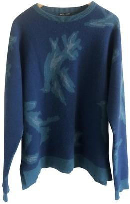 Baja East Blue Cashmere Knitwear for Women