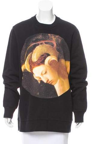 Givenchy Fauno Crew Neck Sweatshirt
