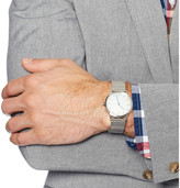Uniform Wares 152 Series Brushed-Steel Wristwatch