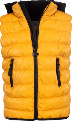 Appaman Apex Hooded Quilted Puffer Vest, Size 2-14