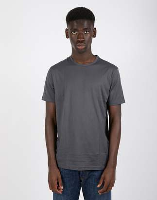 Sunspel Short Sleeve Classic Crew Neck T-Shirt Charcoal
