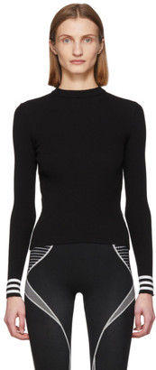 Off-White Black Knit Industrial Sweater
