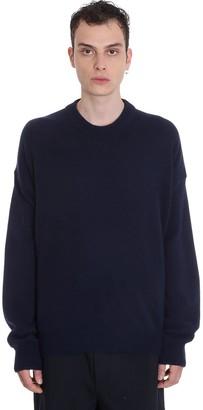 Jil Sander Knitwear In Blue Wool