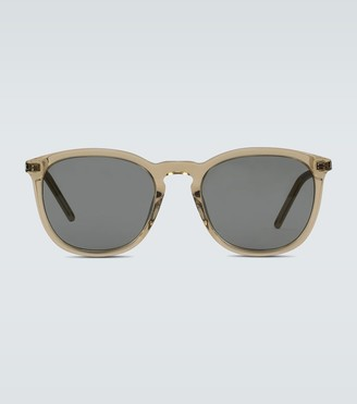 Saint Laurent Translucent acetate sunglasses