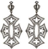 Loree Rodkin 'Shadow Cross' diamond earrings