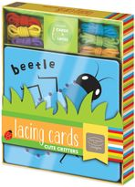 Bed Bath & Beyond Lacing Cards Cute Critters by Kathy Ireland