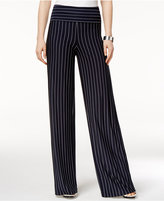 Armani Exchange Striped Foldover Pants
