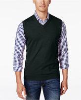 Club Room Men's V-Neck Sweater Vest, Only at Macy's