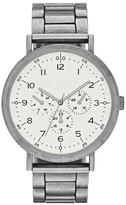 Mossimo Men's Antique Finish Bracelet Watch - Gunmetal