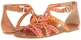 Belle by Sigerson Morrison Bobo 2 (Orange/Red/Gold Multi) - Footwear