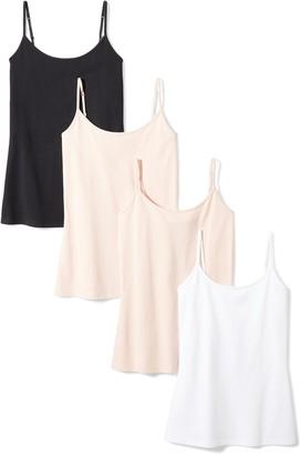 Amazon Essentials Women's 4-Pack Camisole