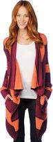 Vancouver Stripe Wrap Sweater