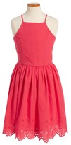 Ruby & Bloom Girl's Embroidered Dress