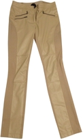 BCBGMAXAZRIA Beige Trousers