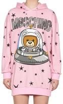 Moschino Space Teddy Hoodie Dress