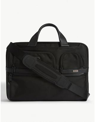 Tumi T-Pass ballistic nylon laptop briefcase