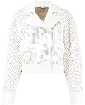 Stella McCartney Perforated Biker Jacket