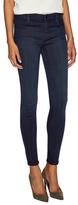 J Brand Mid Rise Super Skinny Coated Jean