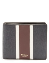 Mulberry Grained-leather wallet