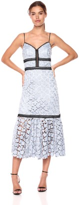 Jill Stuart Jill Women's Tea Length lace Dress