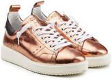 Golden Goose Deluxe Brand Metallic Leather Starter Sneakers