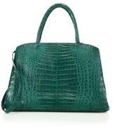 Nancy Gonzalez Large Crocodile Zip Tote