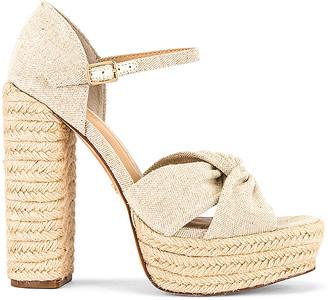 Rachel Zoe Knotted Platform Sandal