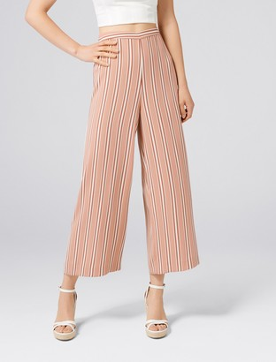 Forever New Marley Stripe Culottes - Stripe - 4