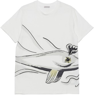 Moncler Whale Printed T-Shirt