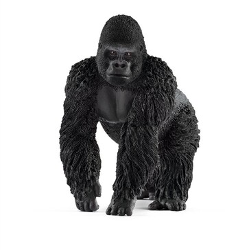 Schleich Hand-Painted Figure Gorilla male