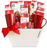 Starbucks Fireside Holiday Gift Basket