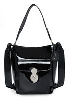 Ralph Lauren The Patent Rl Bucket Bag