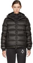 Marcelo Burlon County of Milan Black Down Genek Jacket