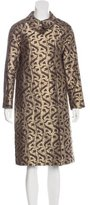 Dries Van Noten Brocade Swing Coat