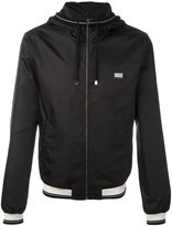 Dolce & Gabbana contrast stripe rain jacket - men - Polyester - 44