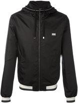 Dolce & Gabbana contrast stripe rain jacket - men - Polyester - 48