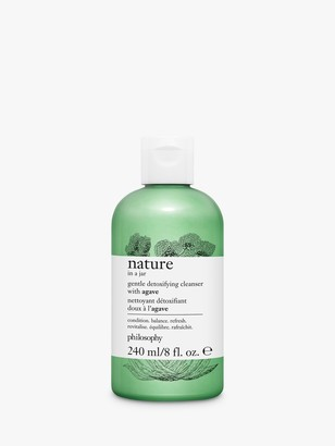 philosophy Nature in a Jar Gentle Detoxifying Cleanser with Agave, 240ml