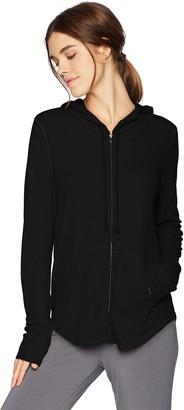 PJ Salvage Women's Lily Lesuiree Rib-Knit Hoodie