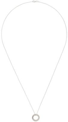 Le Gramme Silver Le 2.5 Grammes Round Pendant Necklace