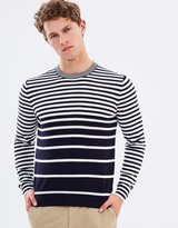 Paul Smith Graded Stripe Crew Knit