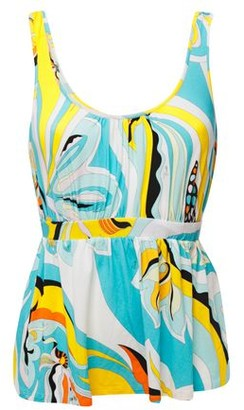 Emilio Pucci Printed Jersey Top
