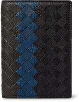 Bottega Veneta Intrecciato Pebble-Grain Leather Bifold Cardholder