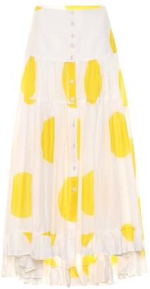 Alexandra Miro Exclusive to Mytheresa Penelope polka-dot cotton skirt