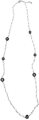 Chanel CC White Pearls Long necklaces