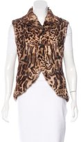 Ralph Lauren Mereworth Leopard Vest