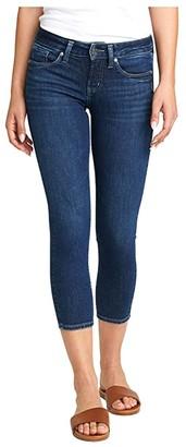 Silver Jeans Co. Suki Skinny Crop Jeans L43969ASX312 (Indigo) Women's Jeans
