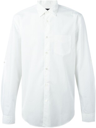 John Varvatos Colour Block Shirt