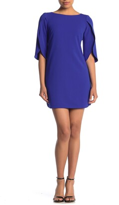 Vince Camuto Tulip Sleeve Sheath Dress