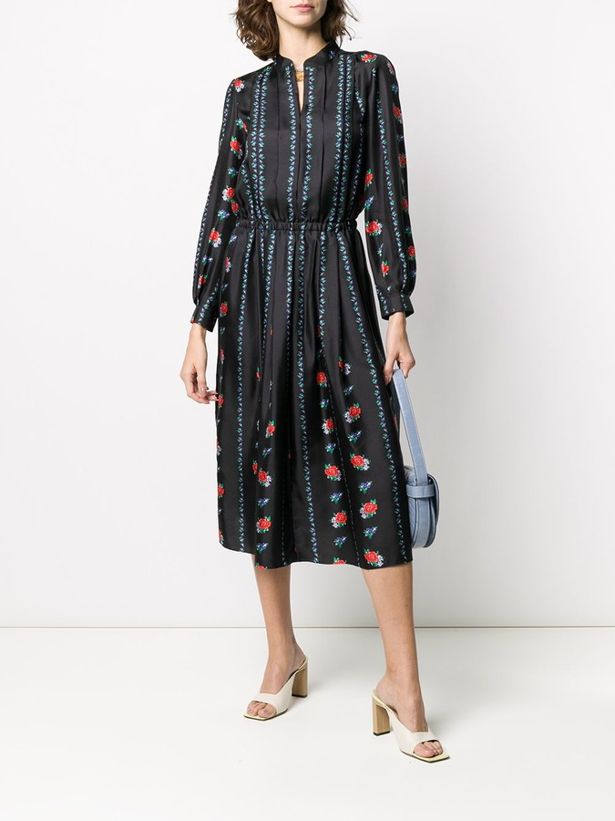 Thumbnail for your product : Tory Burch Pleated Shirt Dress