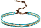 Amrita Singh Gold-Tone & Turquoise-Tone Bracelet/Choker